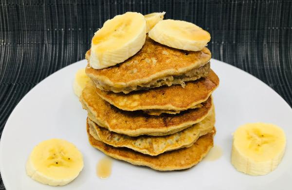 Pancakes de Banano
