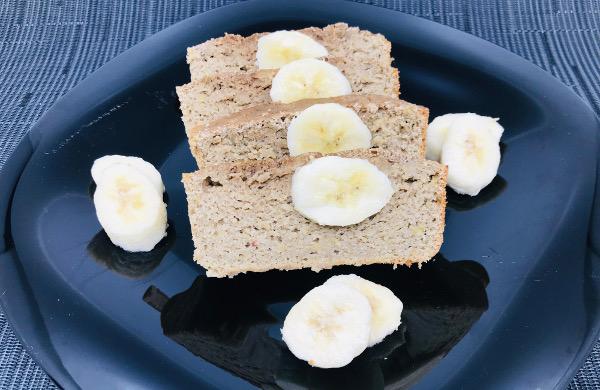 Pan de Banano Saludable
