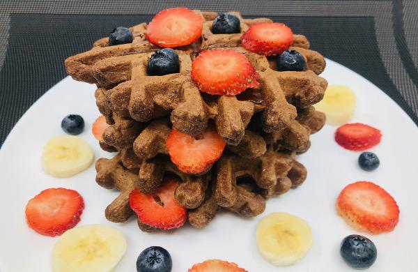 Waffles de Chocobanano Integrales