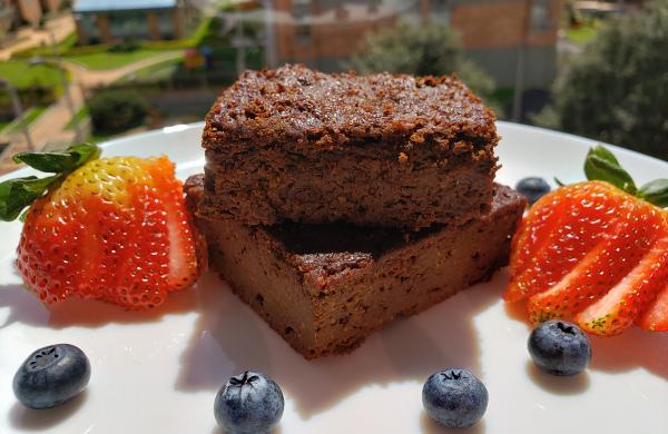 Brownie de Batata y Harina de Almendras